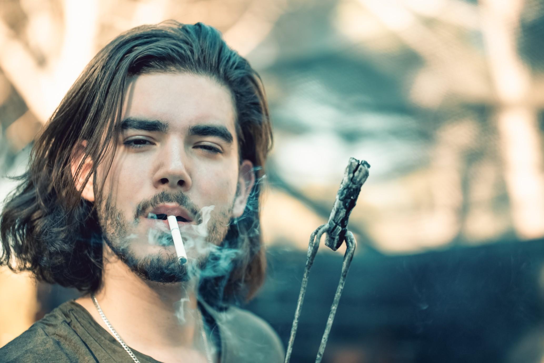 Cigarettes Smoking Room