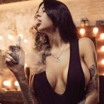 Hot Instagram Smoking Babes