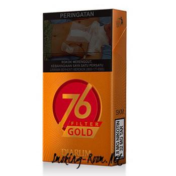 Djarum 76 Filter Gold