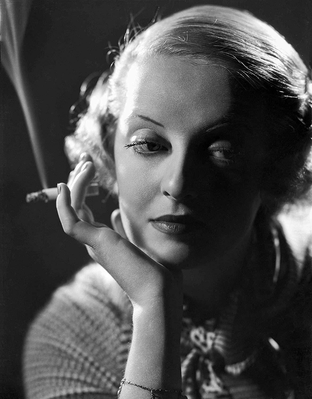 Bette Davis Smoking