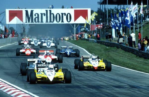 Formula 1 Cigarette Sponsors