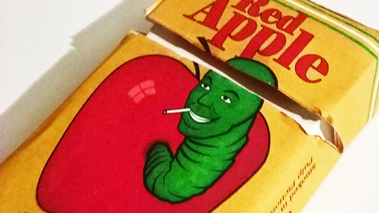Quentin Tarantino's Red Apple Cigarette