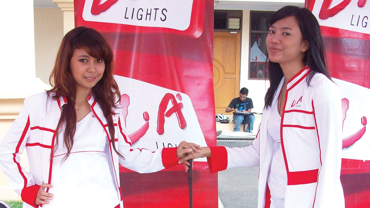 Cigarettes Promotion Girls