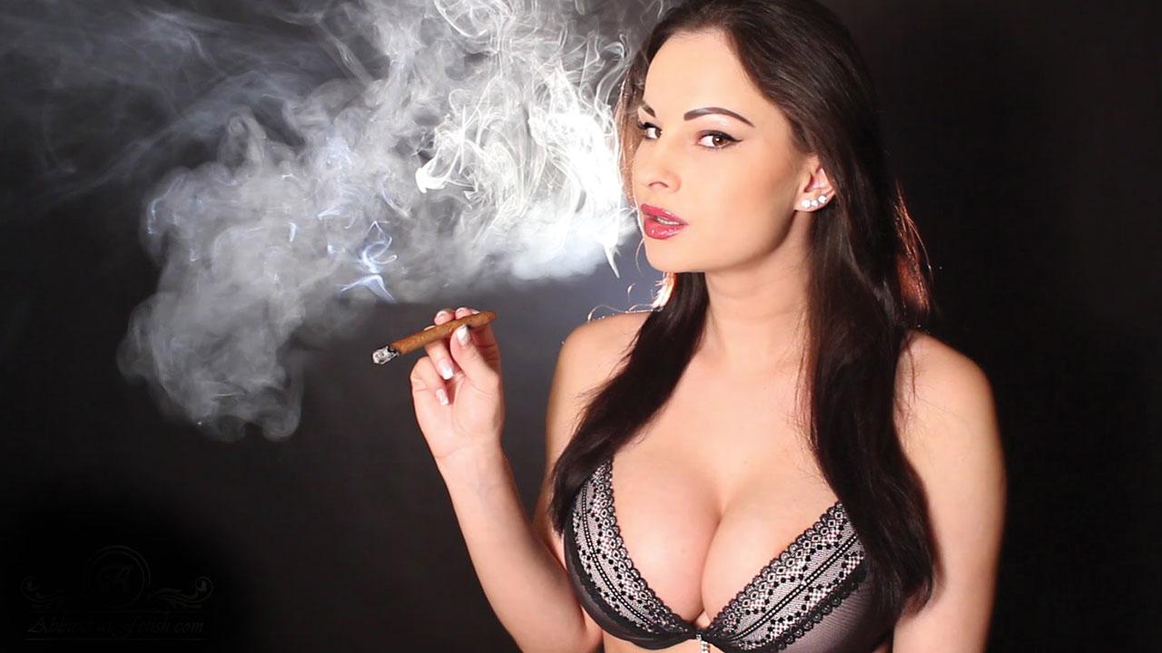 Cigar porn smoking star