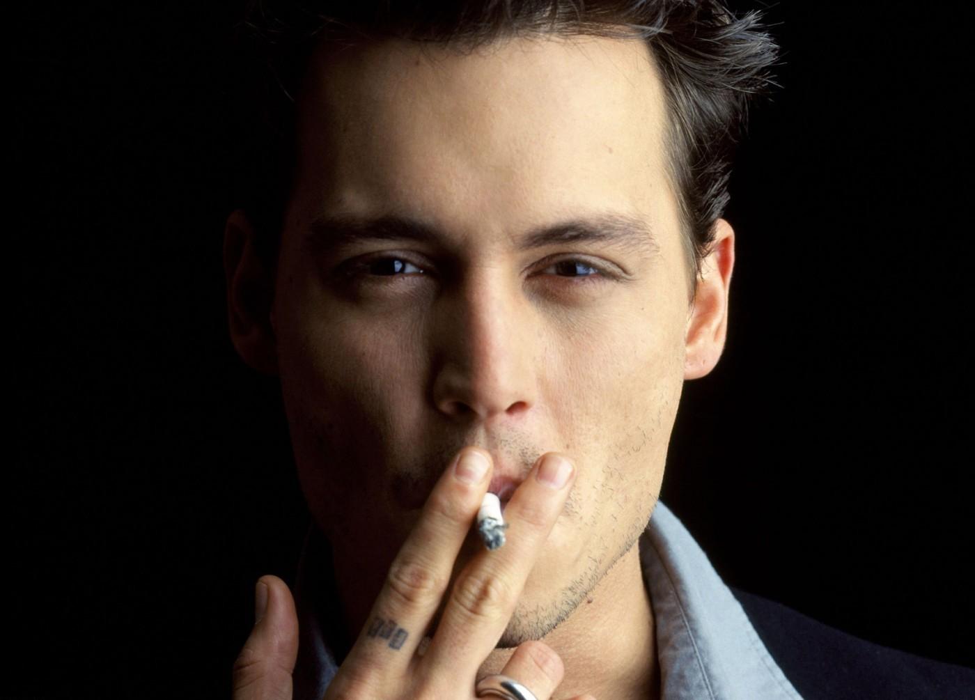 Male Smoking Celebrities