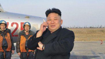 Kim Jong Un Smoking