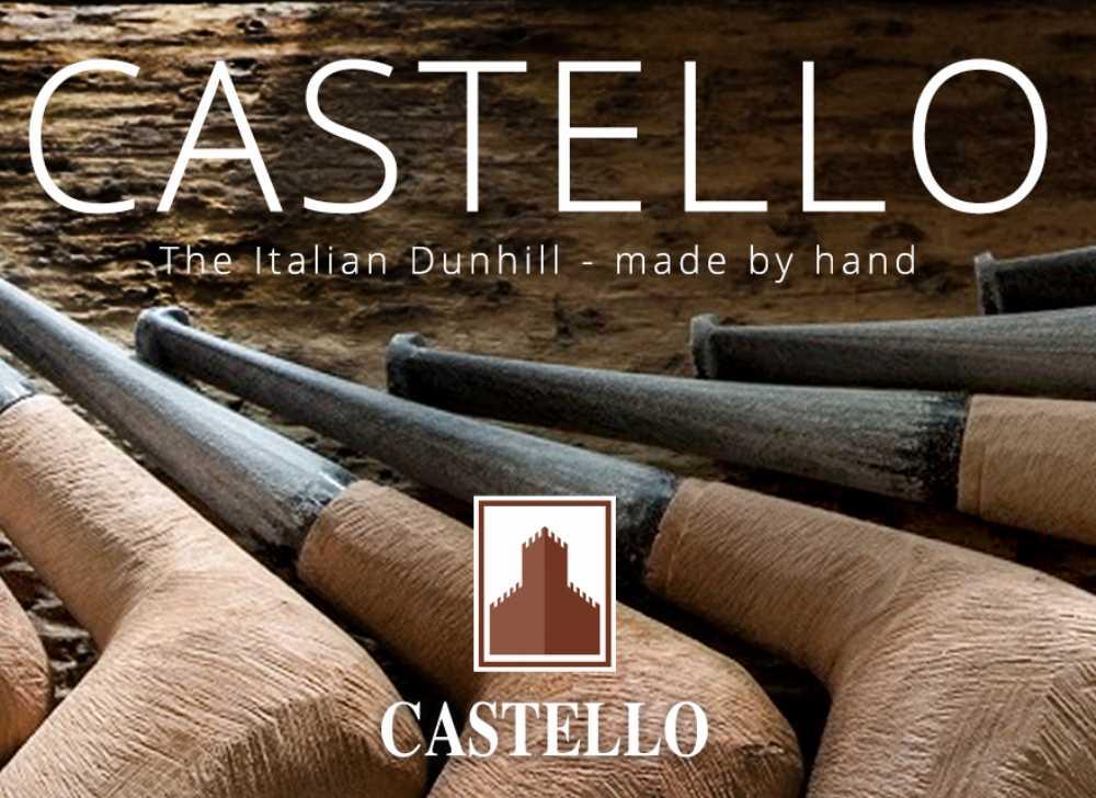 Castello KKKK Bent Egg Pipe