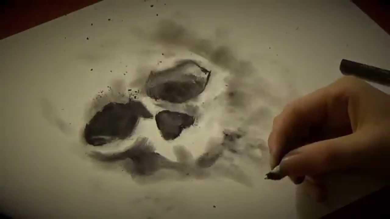Cigarette Ash Art