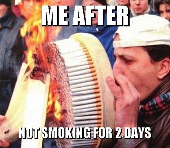 Where's My Cigarette? My Cigarette!!!!