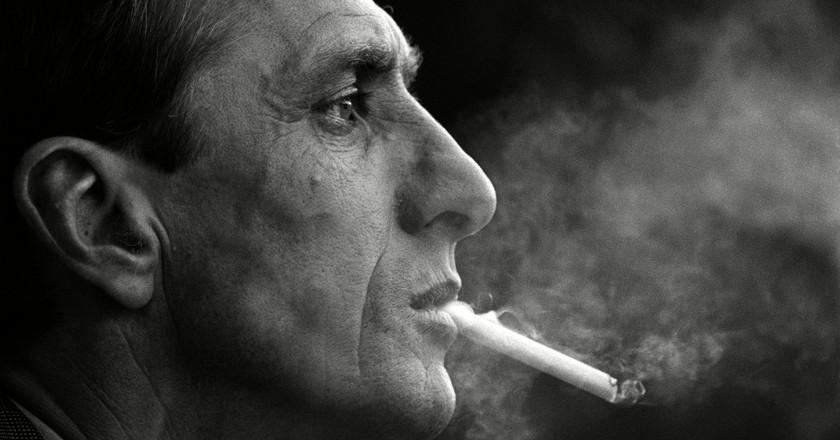 Smoking Johan Cruyff