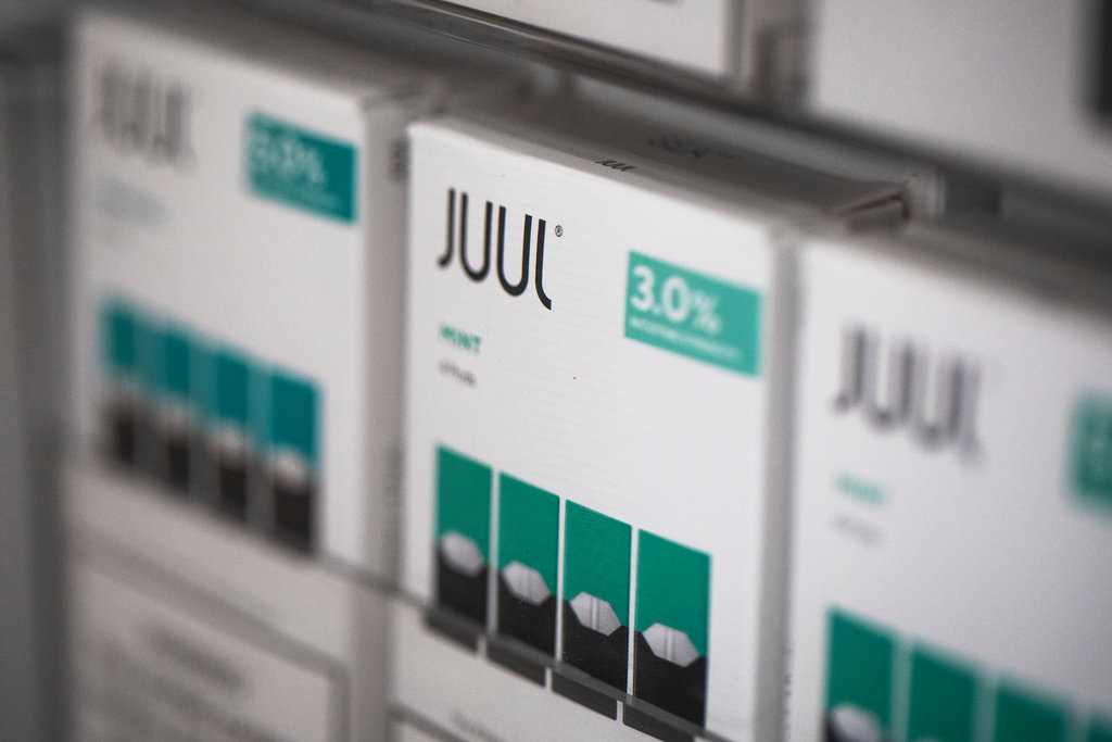 Juul Stops Mint Flavored Vape
