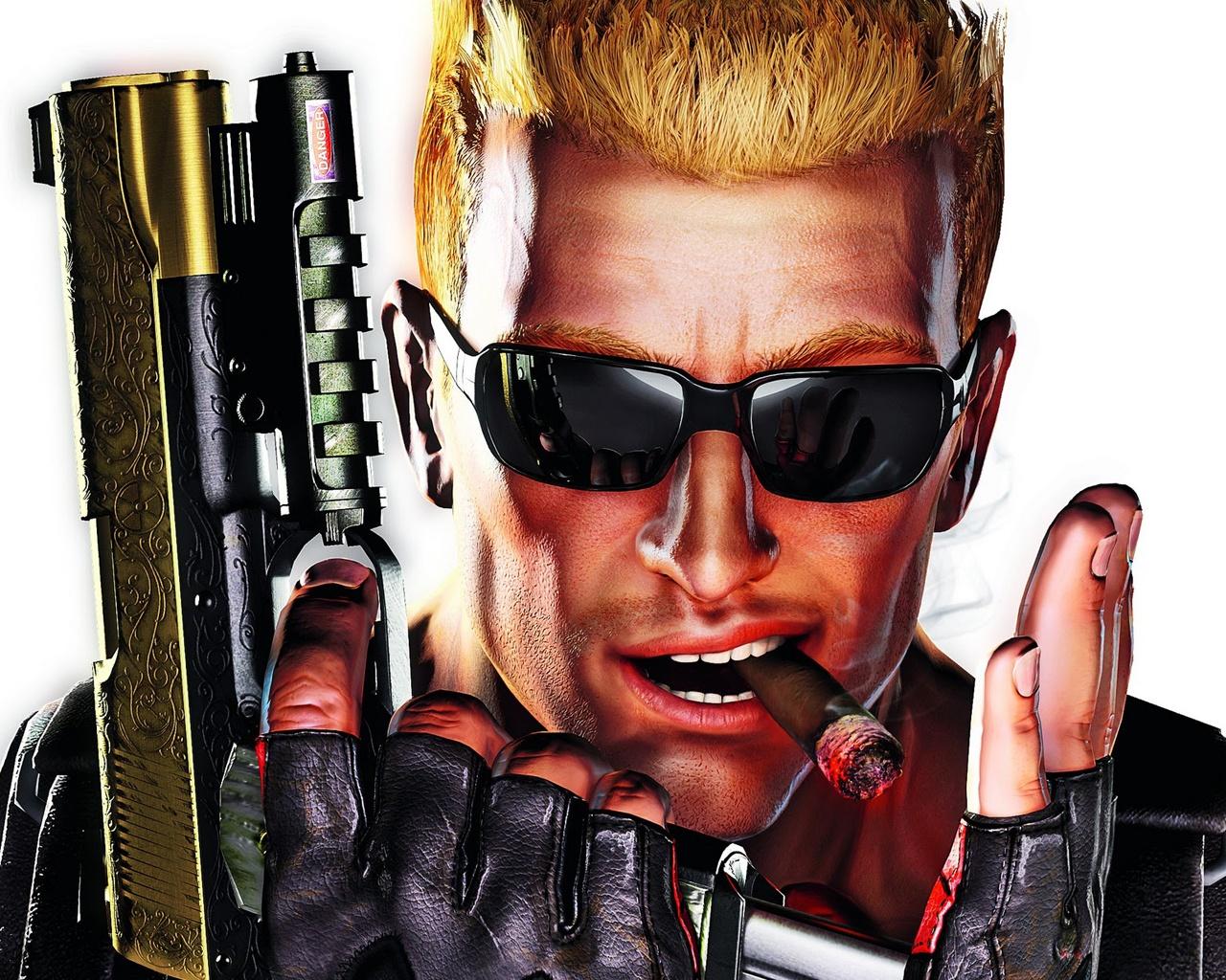 Duke Nukem and Cigar