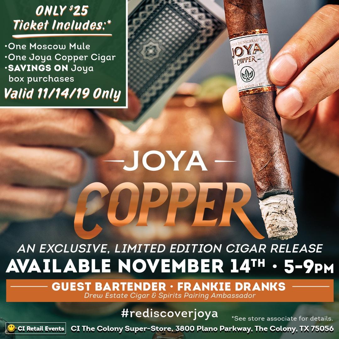 Joya Copper Ad