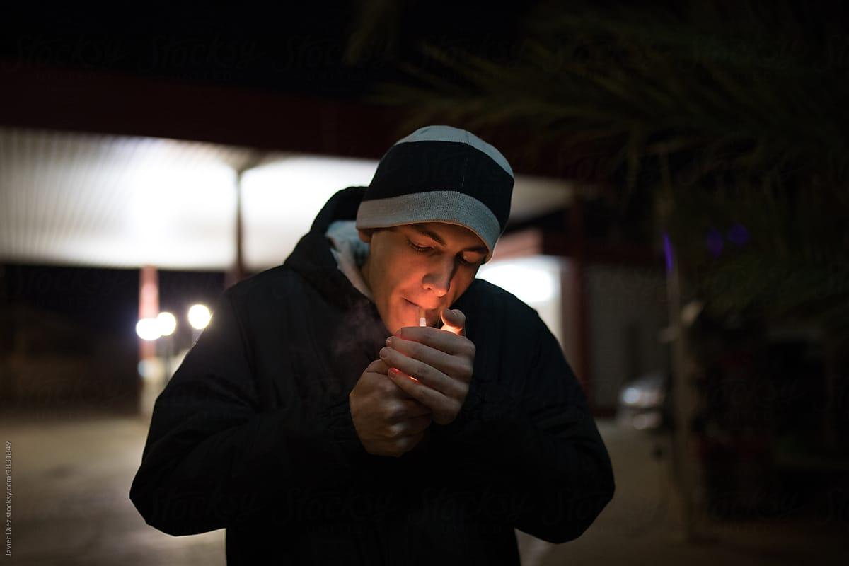 How to Light a Cigarette