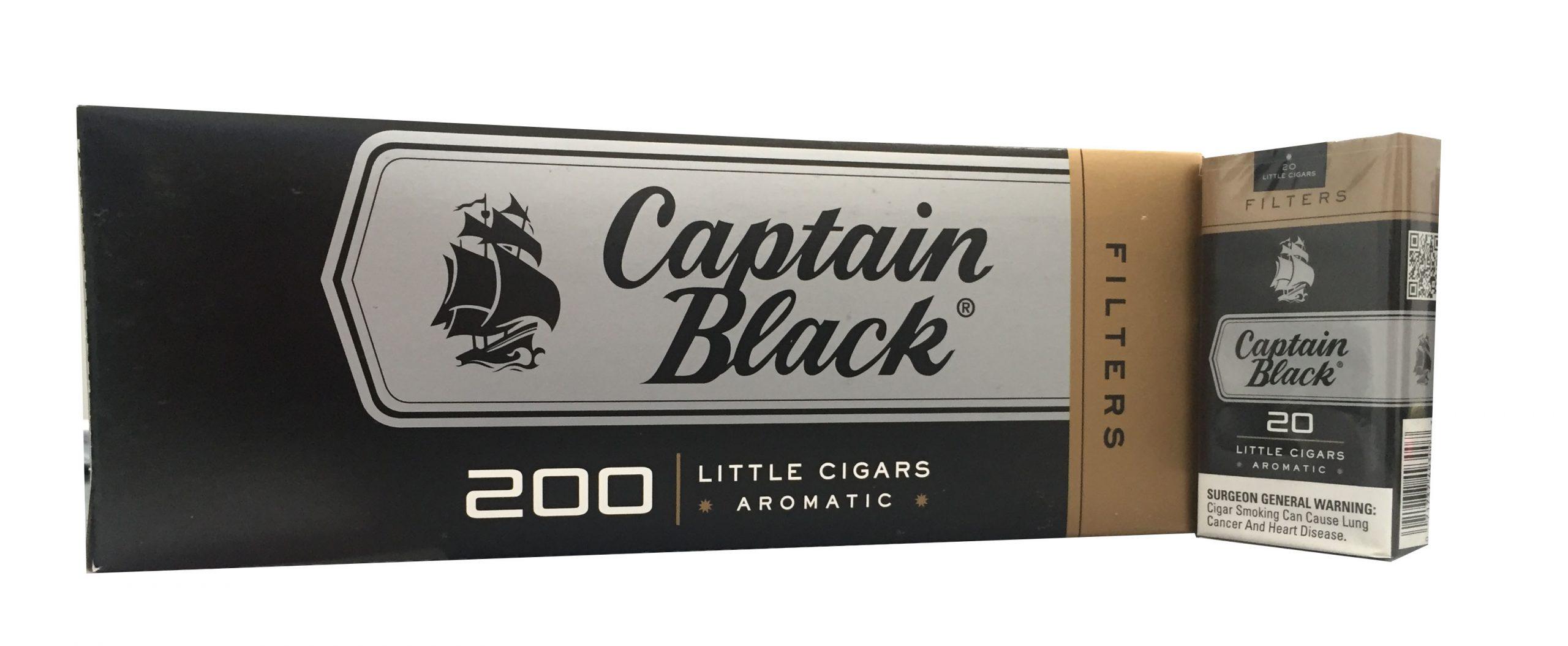Captain Black Little Cigars Filters