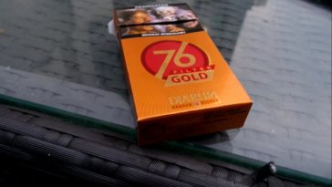 Djarum 76 Filter Gold