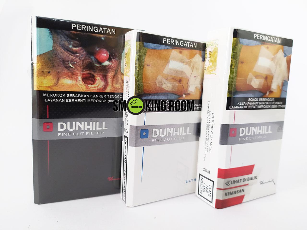 Dunhill Fine Cut Cigarettes