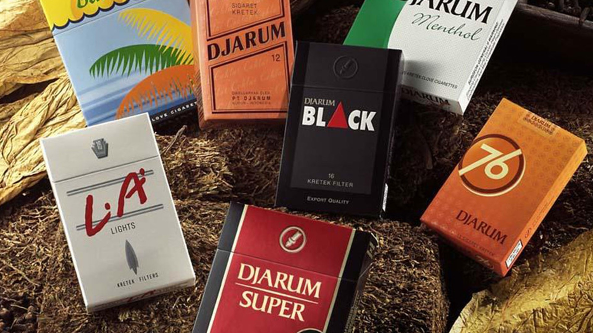 Djarum Kretek Cigarettes