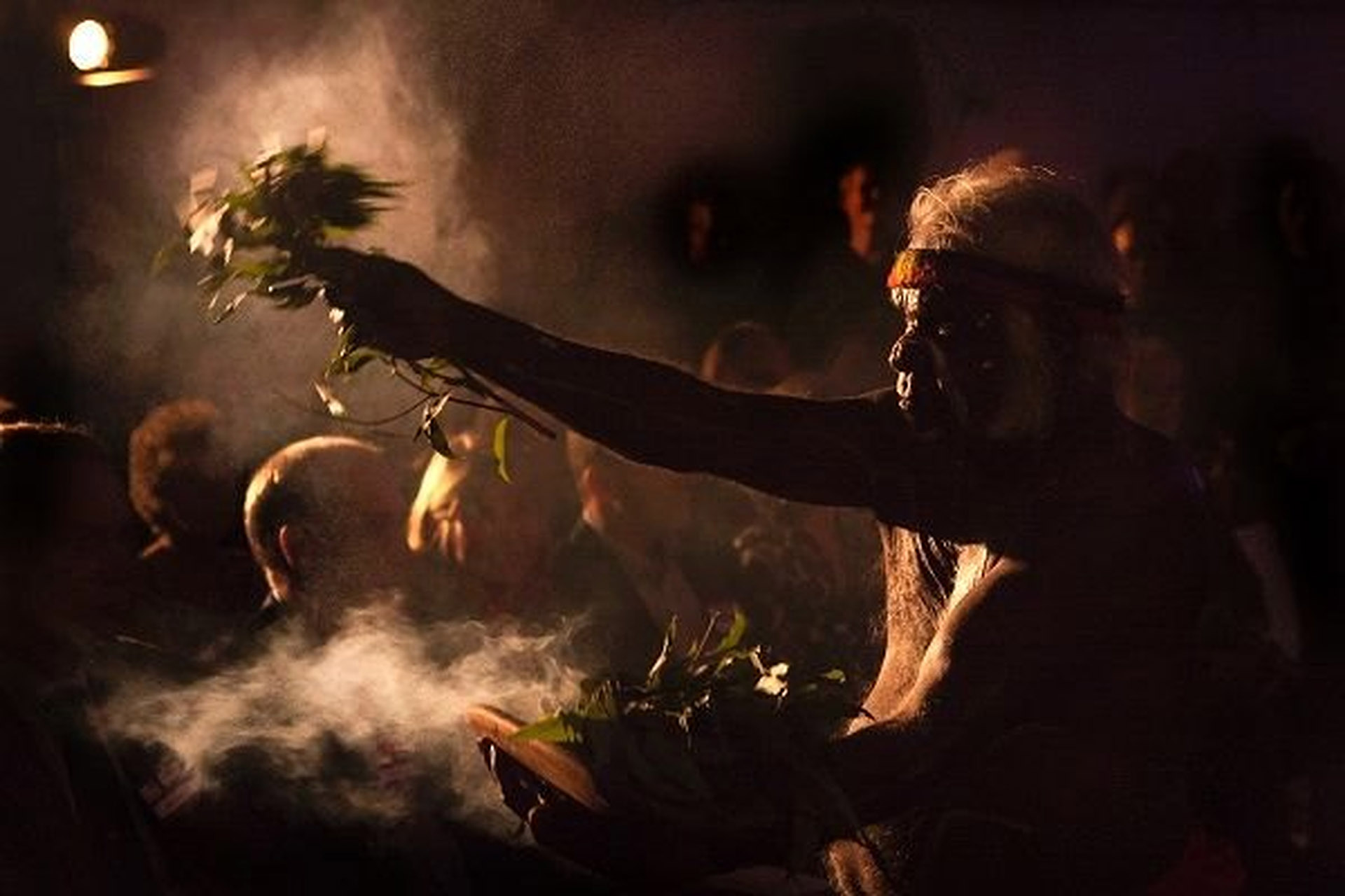 Aborigin Smoking Ceremony
